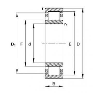 Rodamiento NU226-E-TVP2 FAG