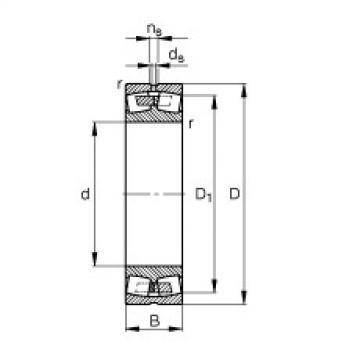 Rodamientos 248/1600-B-MB FAG