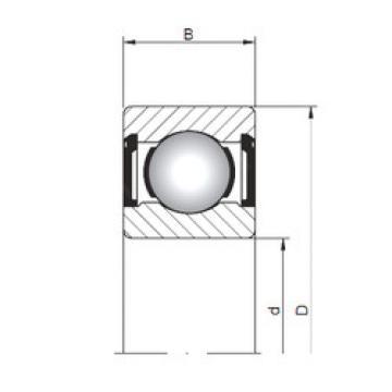 Rodamiento 619/3 ZZ ISO