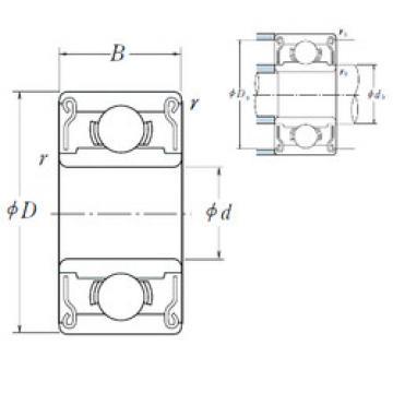Rodamiento MR74ZZ ISO