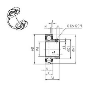 Rodamiento CUS209-27 SNR