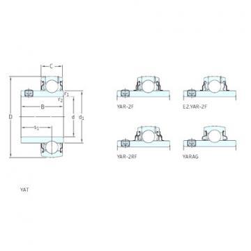 Rodamiento E2.YAR207-104-2F SKF