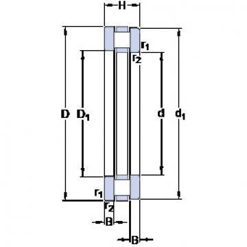 Rodamiento 891/850 M SKF