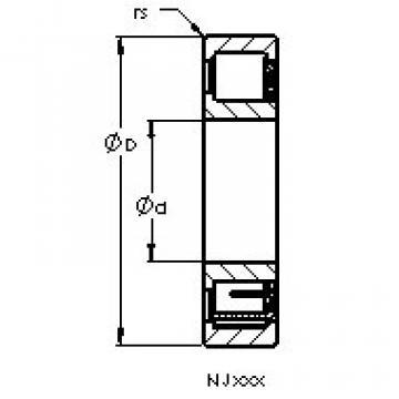 Rodamiento NJ307 E AST