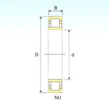 Rodamiento NU 2232 ISB