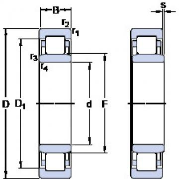 Rodamiento NU 1030 M/C3VL2071 SKF