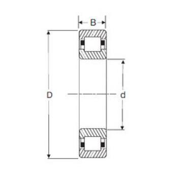 Rodamiento NUP 2319 SIGMA