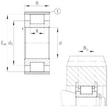 Rodamiento RSL183010-A INA