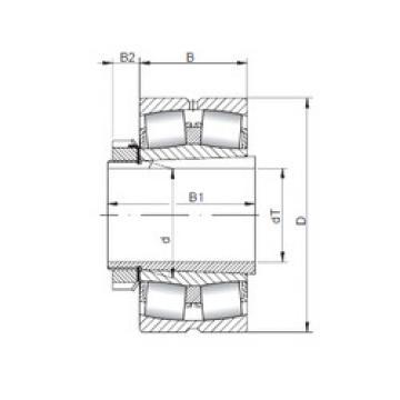 Rodamientos 23944 KCW33+H3944 ISO