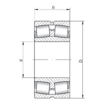 Rodamientos 24080W33 ISO
