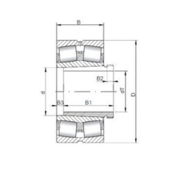 Rodamientos 23180 KCW33+AH3180 ISO