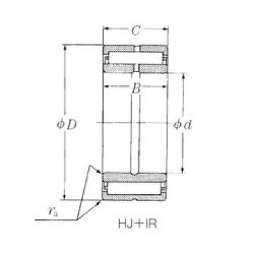 Rodamiento HJ-486028 + IR-404828 NSK