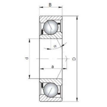 Rodamiento 7305 C ISO