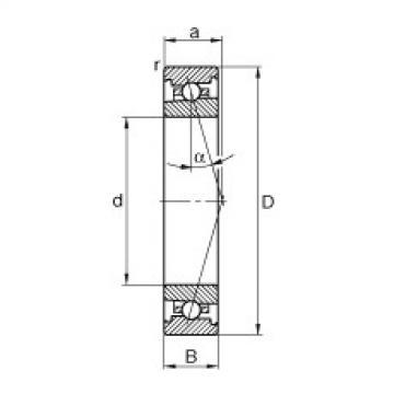 Rodamiento HS7004-C-T-P4S FAG