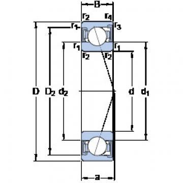 Rodamiento S71907 CD/HCP4A SKF