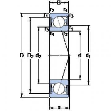 Rodamiento S71911 CE/HCP4A SKF