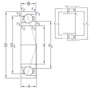 Rodamiento VEB 95 /NS 7CE3 SNFA