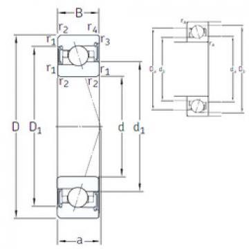 Rodamiento VEX 100 /S/NS 7CE1 SNFA