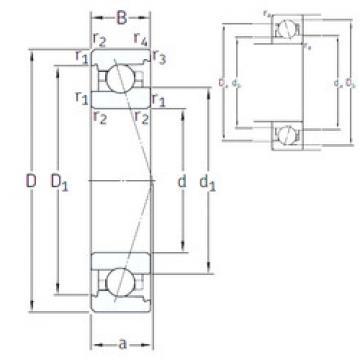 Rodamiento VEX 30 7CE1 SNFA