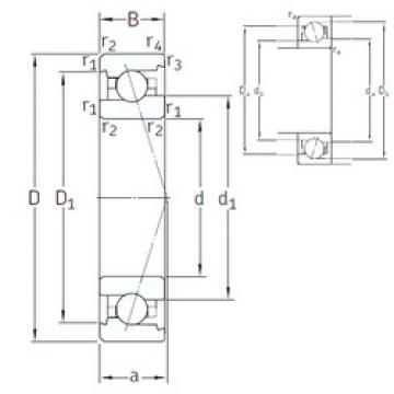 Rodamiento VEX 6 /NS 7CE3 SNFA