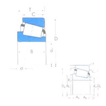 Rodamiento X32304M/Y32304M Timken