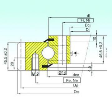 Rodamiento EB1.20.0544.201-2STPN ISB