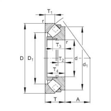 Rodamiento 292/850-E-MB FAG