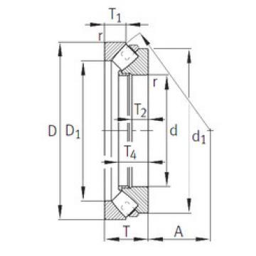 Rodamiento 293/850-E1-MB INA