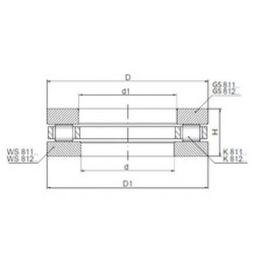 Rodamiento 81228 ISO