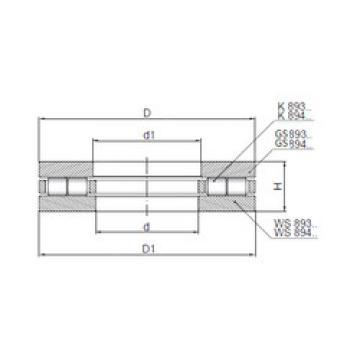Rodamiento 89314 ISO