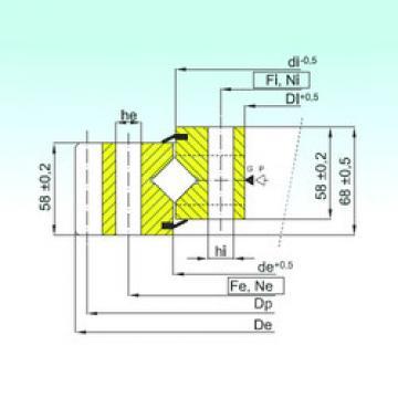 Rodamiento ER1.16.1754.400-1SPPN ISB