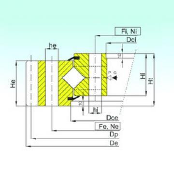 Rodamiento ER1.50.2810.400-1SPPN ISB