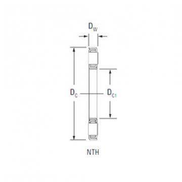 Rodamiento NTH-2448 Timken