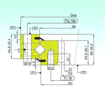 Rodamiento ZR1.14.0644.201-3SPTN ISB