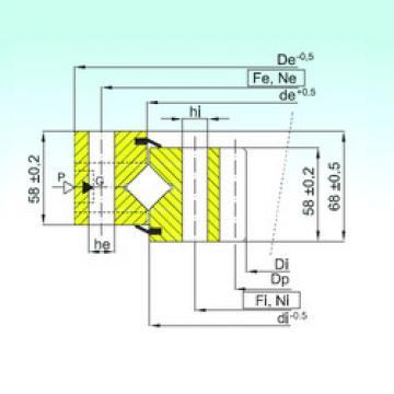 Rodamiento ZR1.16.1424.400-1SPPN ISB
