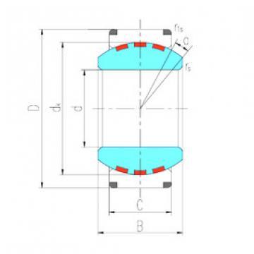 Rodamiento GE160XF/Q LS