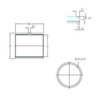 Rodamientos PCM 10010560 E SKF