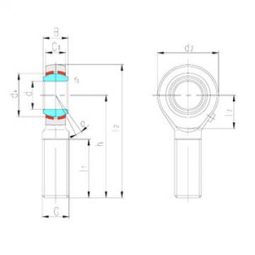 Rodamientos SABP10S LS