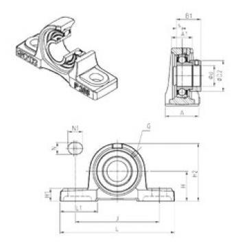 Rodamiento ESP201 SNR