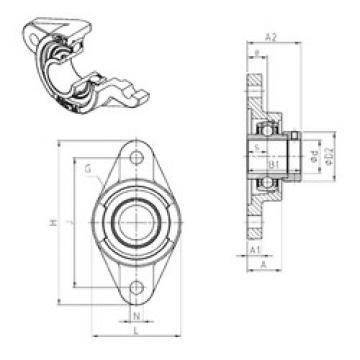 Rodamiento EXFL215 SNR
