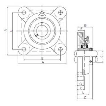 Rodamiento UCF311 ISO