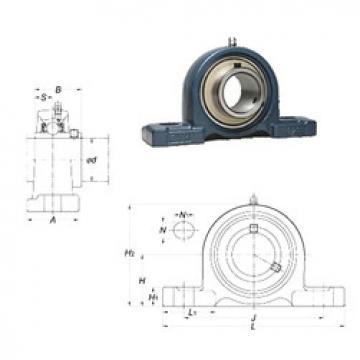 Rodamiento UCP212-38 FYH