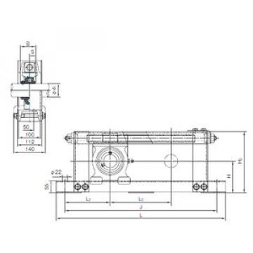 Rodamiento UCTU318+WU500 NACHI