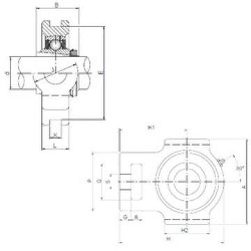 Rodamiento UKT217 ISO