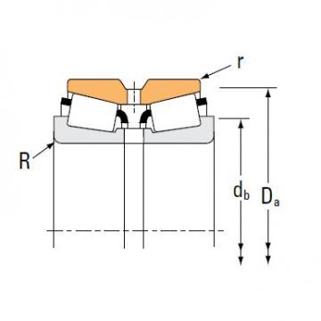 Bearing HM120848 HM120817XD