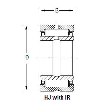 Bearing IR-8810448 HJ-10412848