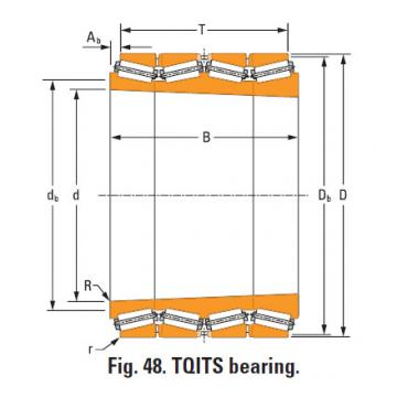 Bearing m275330T m275310d double cup