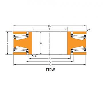 Bearing Thrust race double d-3637-a