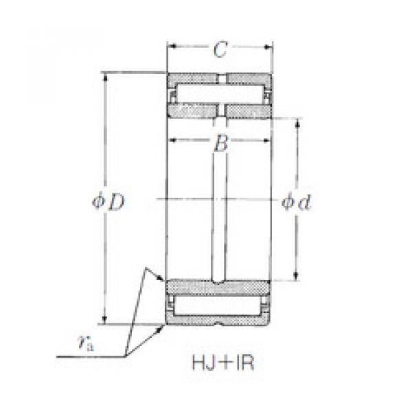Rodamiento HJ-486028 + IR-404828 NSK #1 image