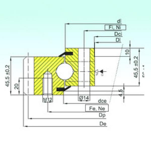 Rodamiento EB1.20.0544.201-2STPN ISB #1 image